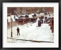 Framed Fifth Avenue in Winter