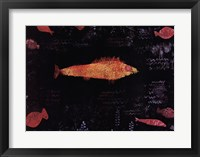Framed Golden Fish, c.1925