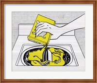 Framed Washing Machine