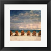 Framed Golden Beach