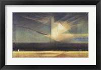 Framed Vogel - Wolke