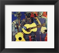 Framed Three Folk Musicians, 1967