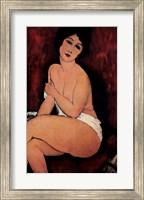 Framed La Bell Romaine
