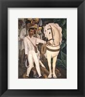Framed Agrarian Leader Zapata