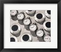 Framed Eight O'Clock Coffee, 1935