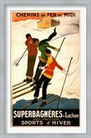 Framed Superbagneres-Luchon, Sports d'Hiver