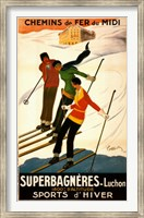 Framed Superbagneres-Luchon, Sports d'Hiver