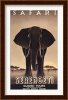 Framed Serengeti