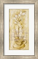 Framed Afternoon Orchids III