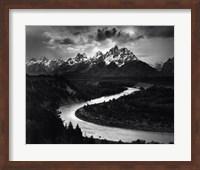 Framed Snake River