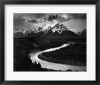 Framed Snake River
