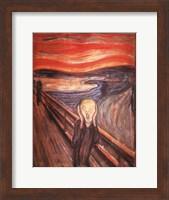 Framed Scream, c.1893