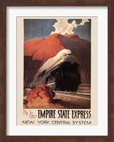 Framed Empire State Express