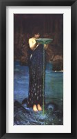 Framed Circe Invidiosa, c.1892