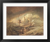 Framed Boats with Anchors