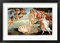 Framed Birth of Venus