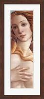 Framed Birth of Venus (detail)