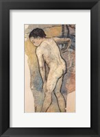 Framed Breton Bather