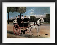 Framed Father Juniet's Cart