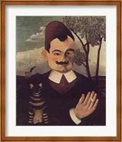 Framed Pierre Loti