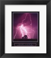 Framed Bad Luck - Lightning