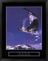 Framed Dare - Snowboarder