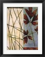 Framed Falling Leaves