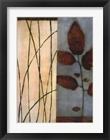 Framed Quiet Leaves