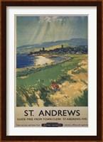 Framed Vintage Golf - St Andrews