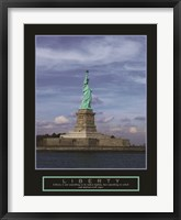 Framed Liberty-Statue of Liberty