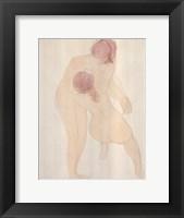 Framed Two Figures 1905
