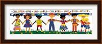 Framed Children Love the World