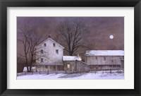 Framed Full Moon