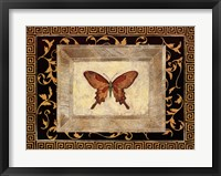 Framed Winged Ornament I