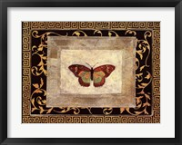 Framed Winged Ornament II