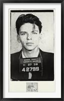 Framed Frank Sinatra [Mugshot]