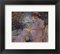 Framed Eleanor, c.1907