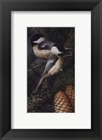 Framed Chickadees