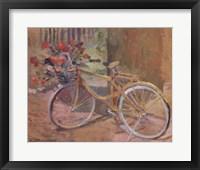 Framed La Bicyclette