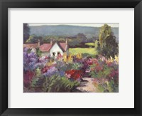 Flower Path Framed Print