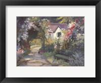 Framed Garden Bench
