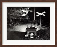 Framed Howard and Robert Hart Jr. Pincus - Night Ride, 1985