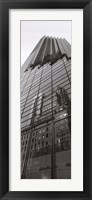 Skyscraper Reflections Framed Print