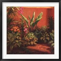 Framed Jardin Tropical