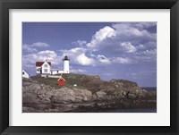 Framed Cape Neddick Light