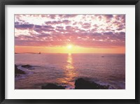 Framed Sunrise from Portland Head Light