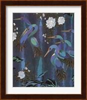 Framed Cranes in Paradise II