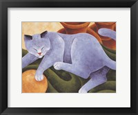 Framed Cats & Pots
