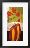 Framed Les Fleurs Ephemeral 2