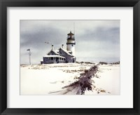 Framed Cape Cod Lighthouse